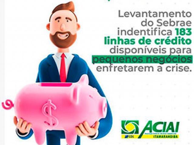 Linhas de Crédito disponíveis para pequenos negócios